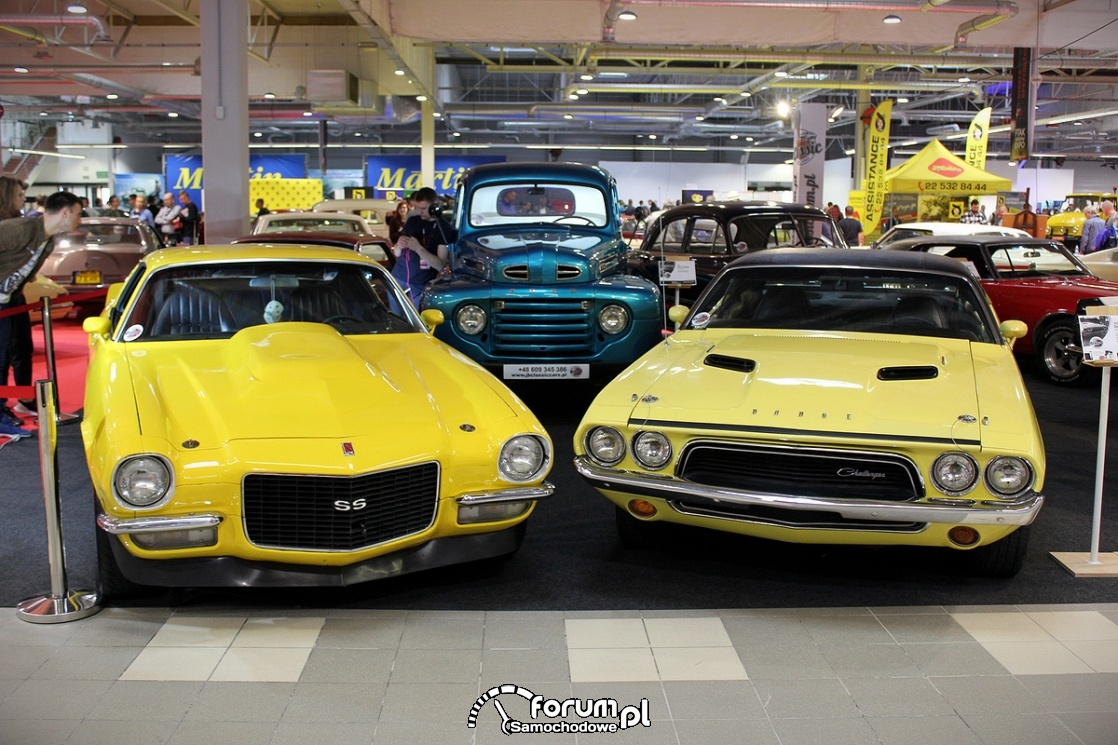 Dodge Charger, Chevrolet Camaro SS, Ford F3