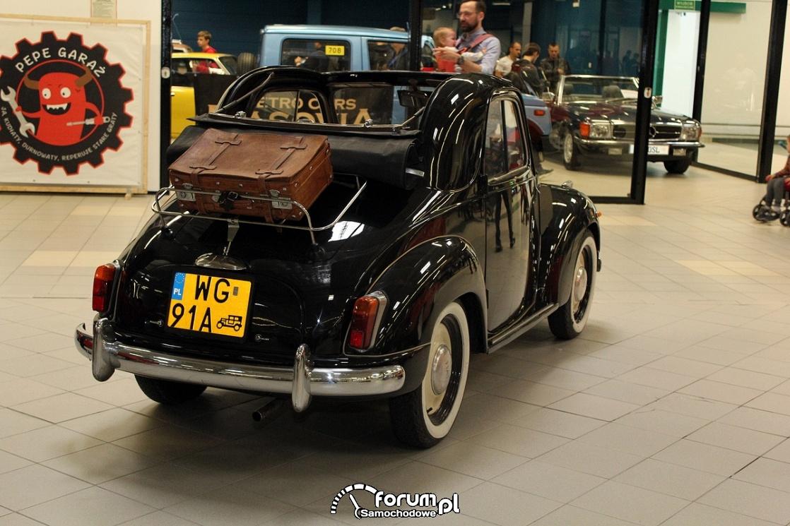 Fiat 500 C Topolino, tył