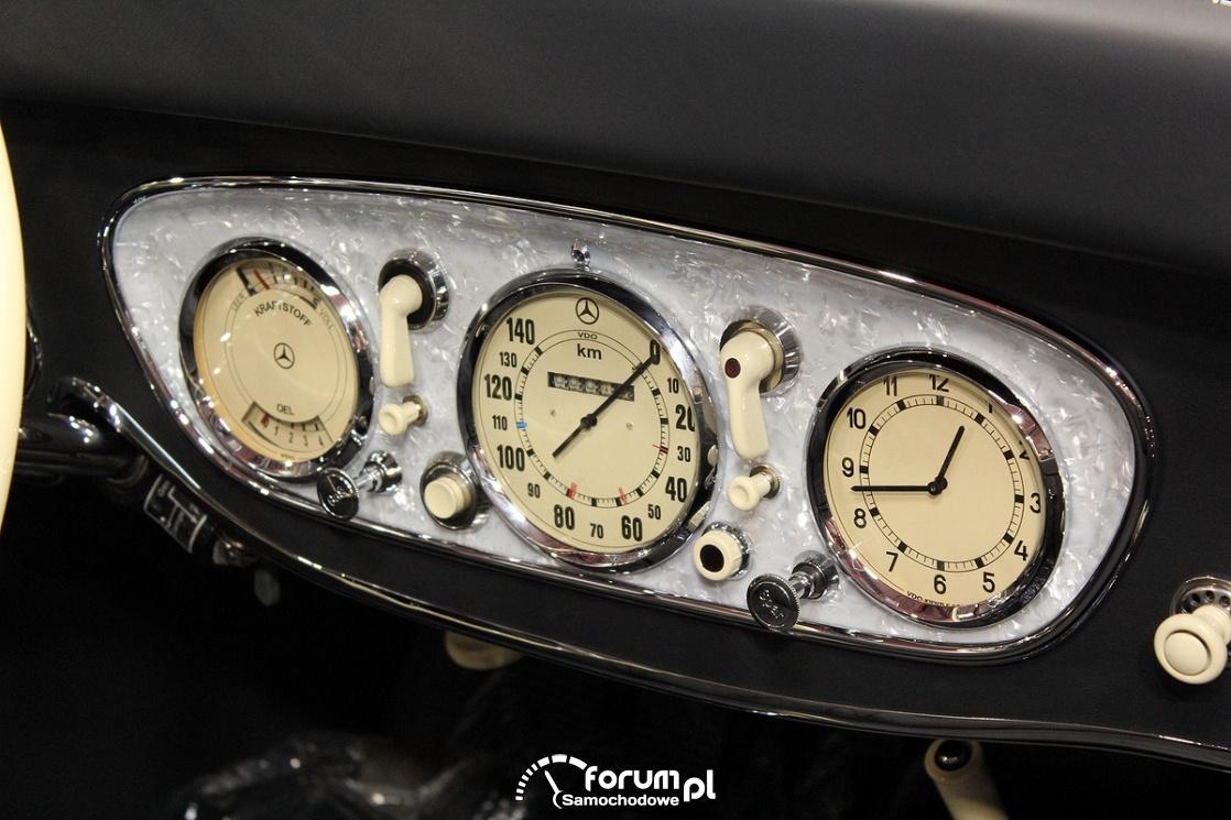 Licznik VDO, Mercedes-Benz Cabrio, Old Car