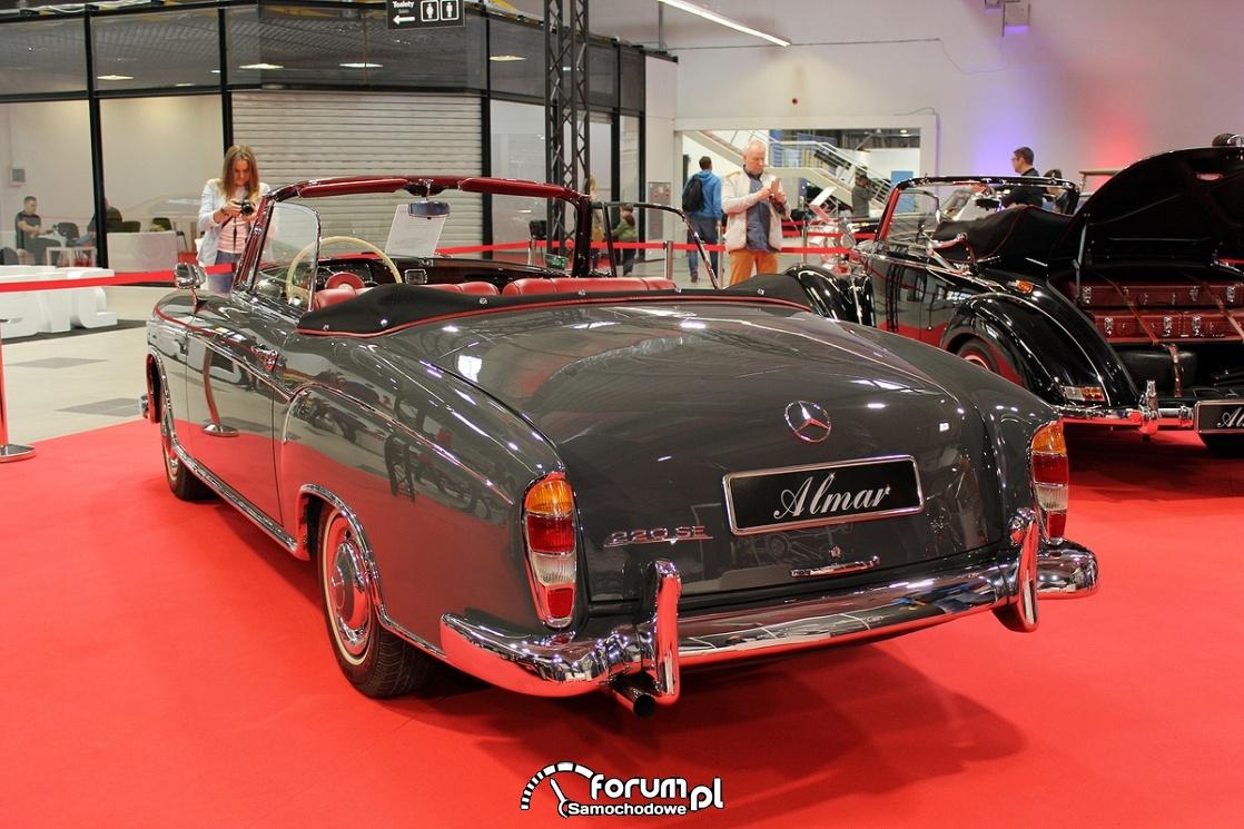 Mercedes-Benz 220SE, tył
