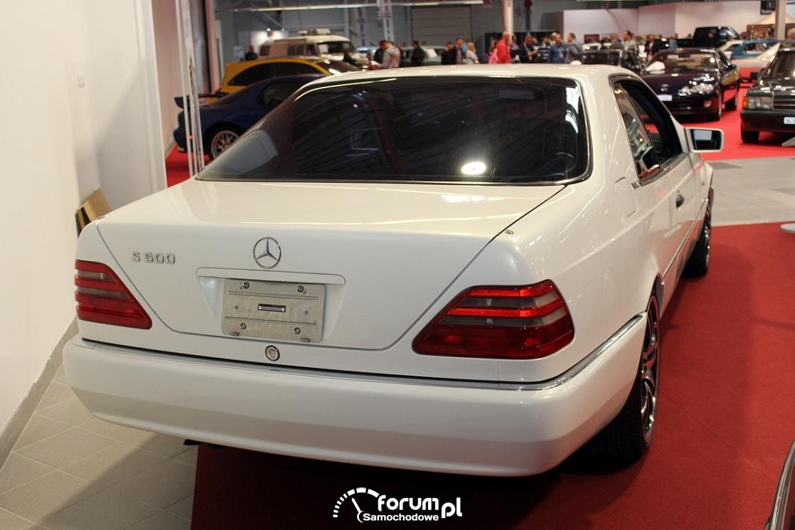 Mercedes CL600, 1996 rok, tył