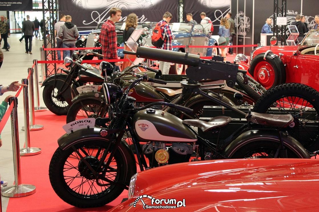 Motocykle Sokół