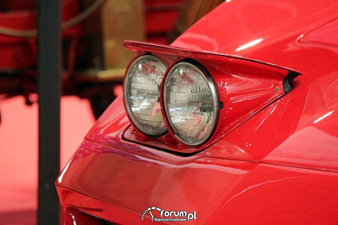 Otwierane podwójne przednie światła, Chevrolet Corvette
