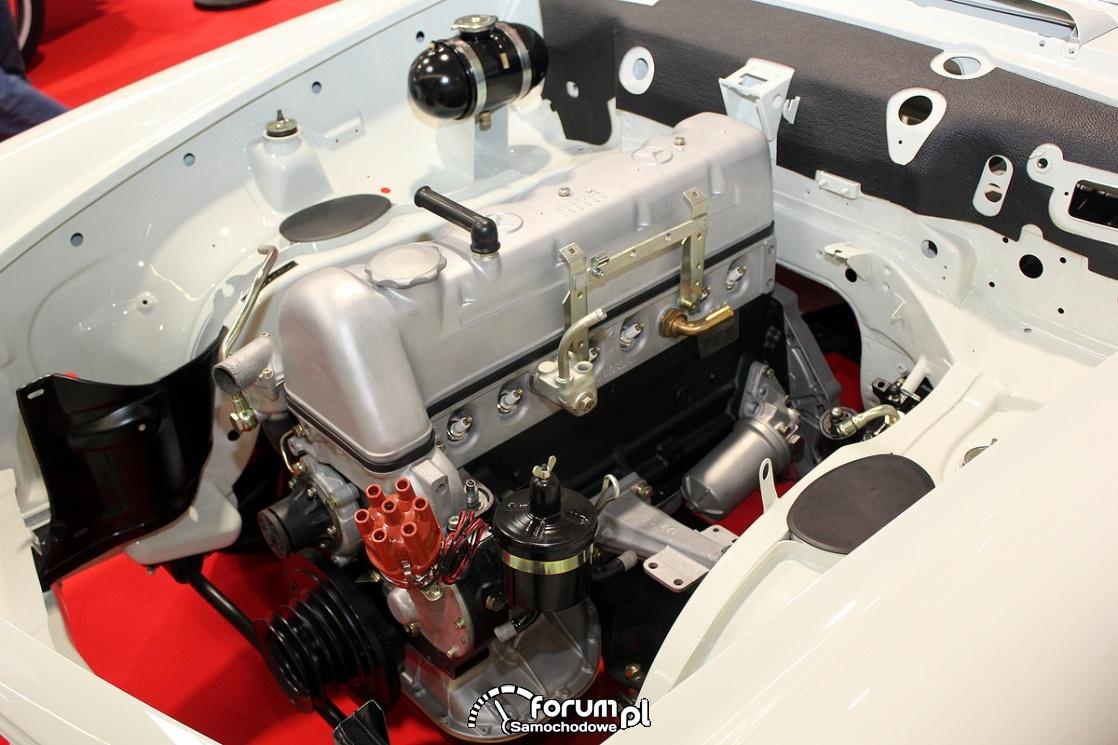Silnik R6 Mercedes-benz, Old Car