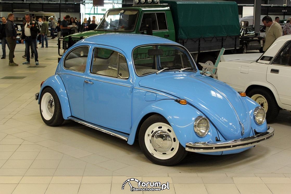 Volkswagen Garbus, białe felgi