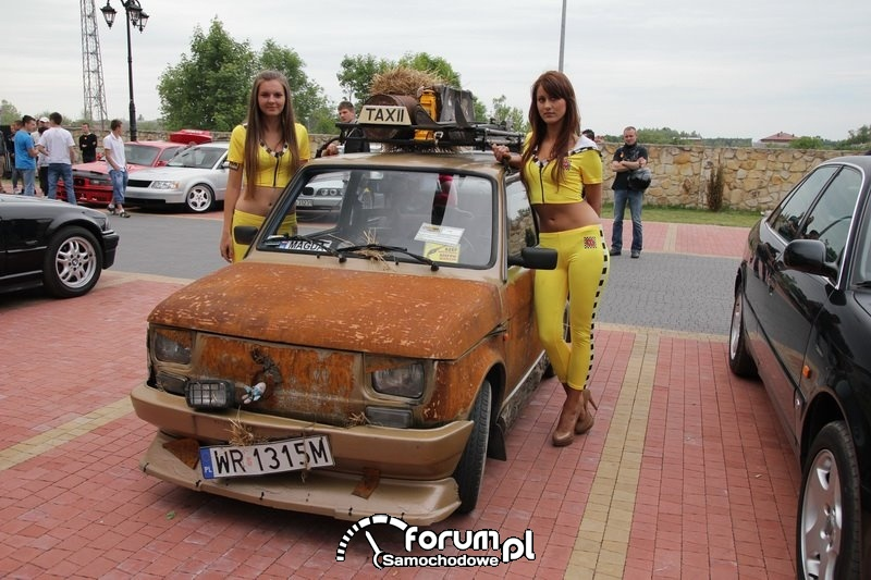 Maluch 126p - tuning, dziewczyny, Skaryszew 2012