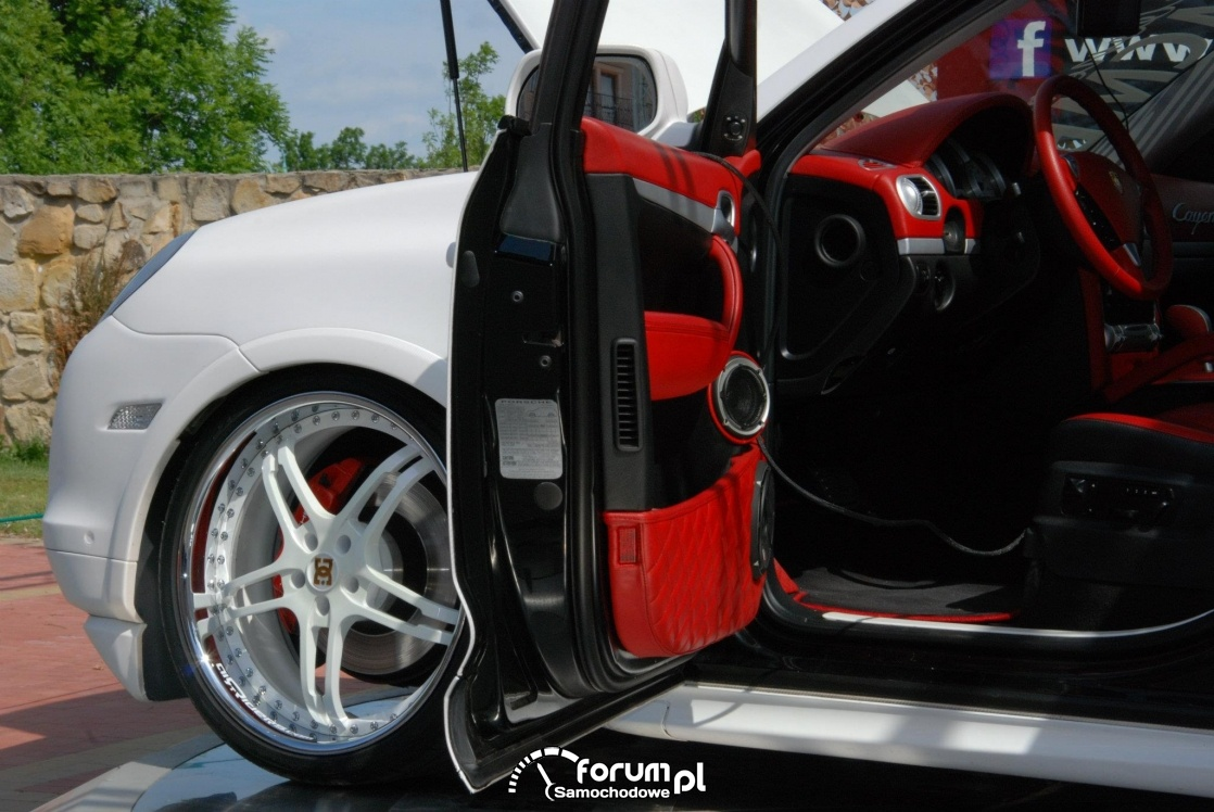 Porsche Cayenne S, Skaryszew 2012, 2