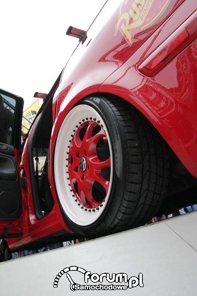 Volkswagen Passat kombi - alufelgi, Skaryszew 2012