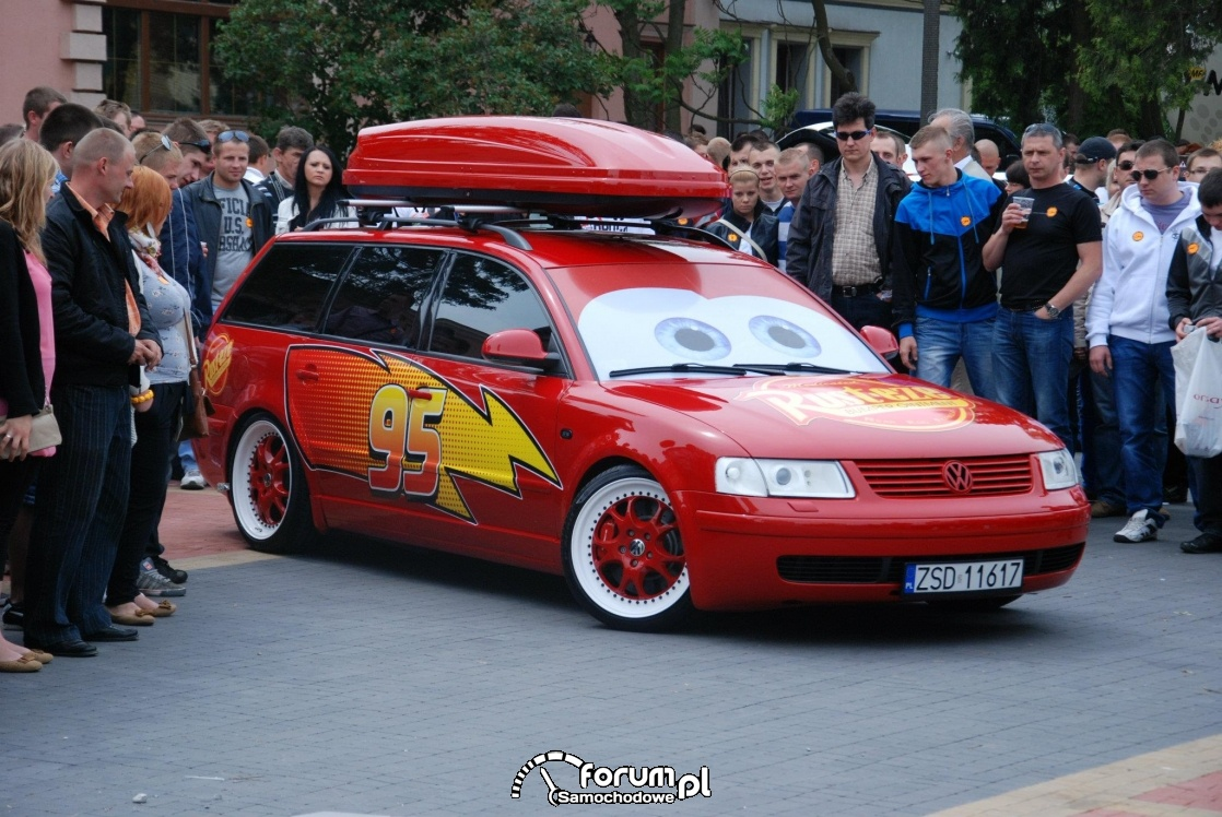 Volkswagen Passat kombi - tuning, Skaryszew 2012