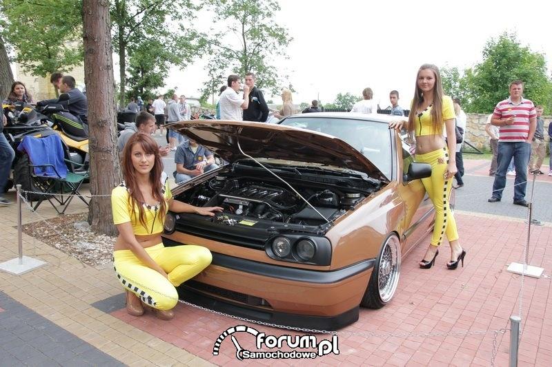 VW Golf III - tuning, dziewczny, Skaryszew 2012