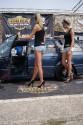 Volkswagen Passat kombi, tuning, dziewczyny, 3
