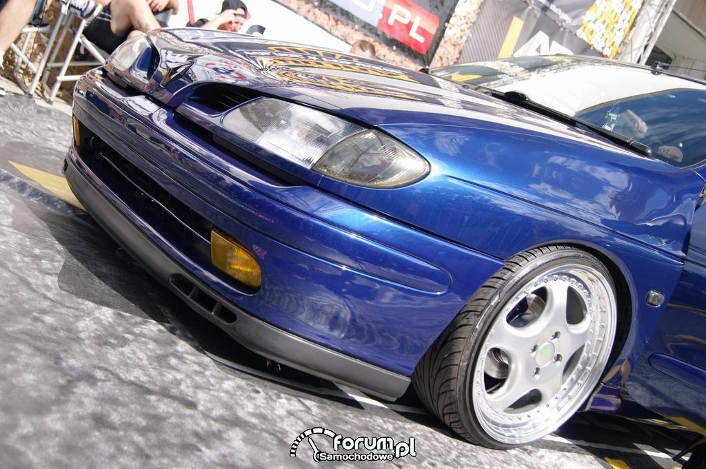 Renault Megane I, widok z przodu