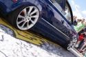 Volkswagen Passat b5 lift, alufelgi i czerwone zaciski