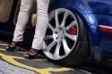 Volkswagen Passat b5 lift, szeroka alufelga z tyłu