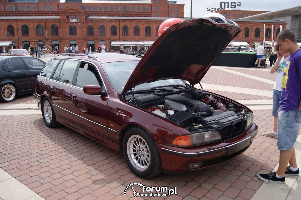 BMW E39 Kombi, przód