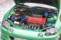 Honda CRX Del Sol, silnik