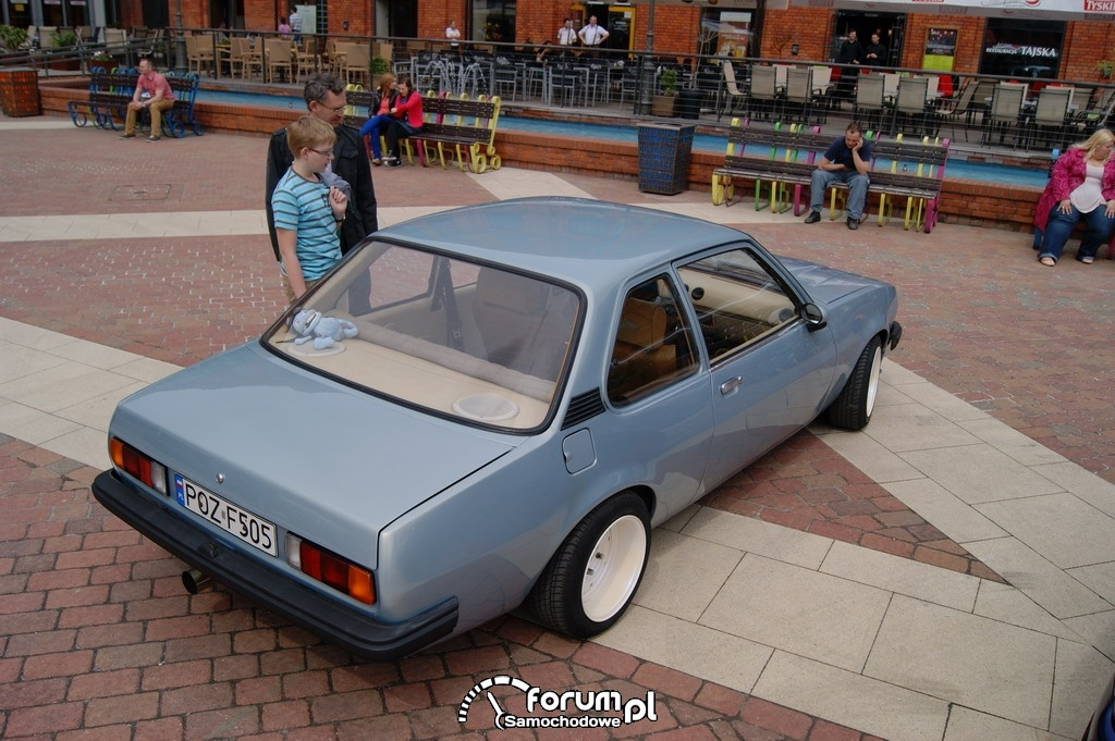 Opel Record Coupe