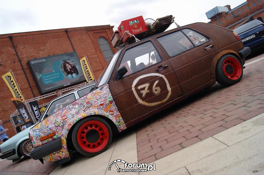 Volkswagen Golf II, Rost style - rdza, 3