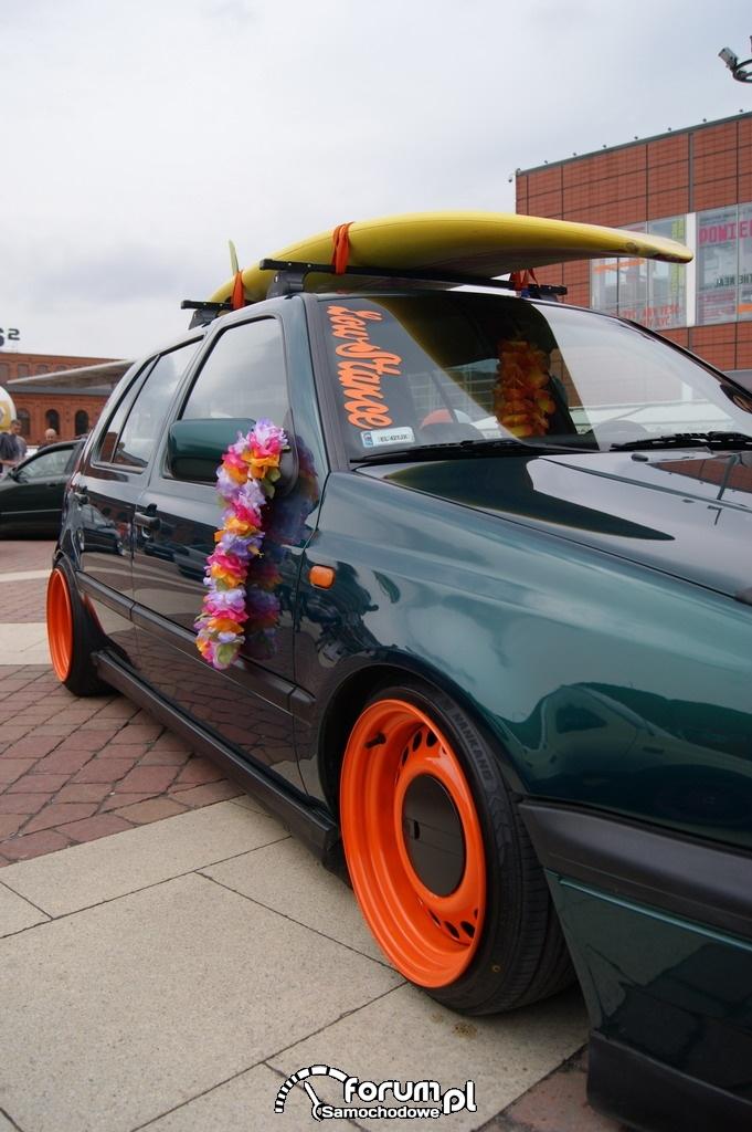 VW Golf III, dekoracje, tuning