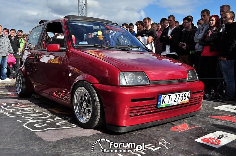 Fiat Cinquecento, przód