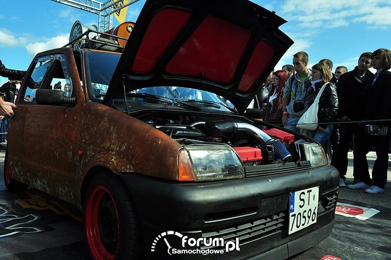 Fiat Cinquecento, rdza, tuning