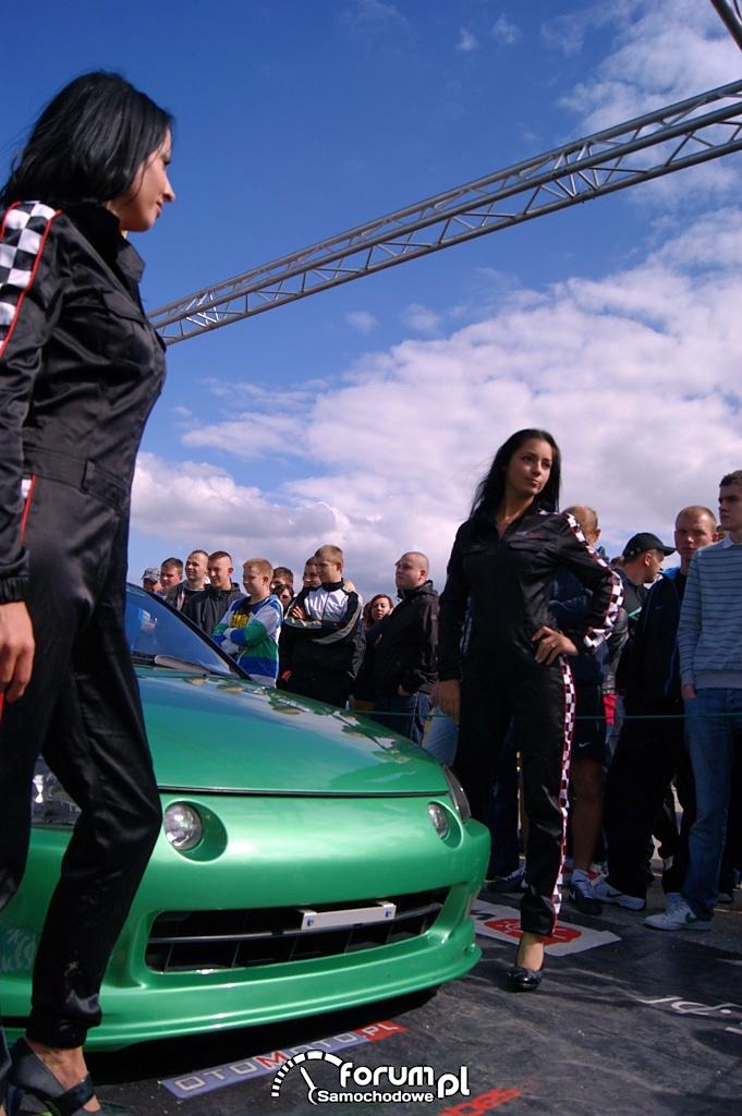 Honda CRX Del Sol, dziewczyny