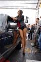Mercedes-Benz - W126 560 SEC V8, dziewczyna, modelka