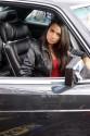 Mercedes-Benz - W126 560 SEC V8, dziewczyna
