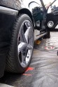 Opel Tigra, czarna, alufelgi, 2