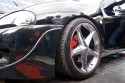 Opel Tigra, czarna, alufelgi