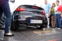 Opel Tigra, czarna, tył