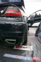 Opel Tigra, czarna, wydech