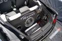 Opel Tigra, czarna, zabudowa bagażnika Car Audio, Rostex