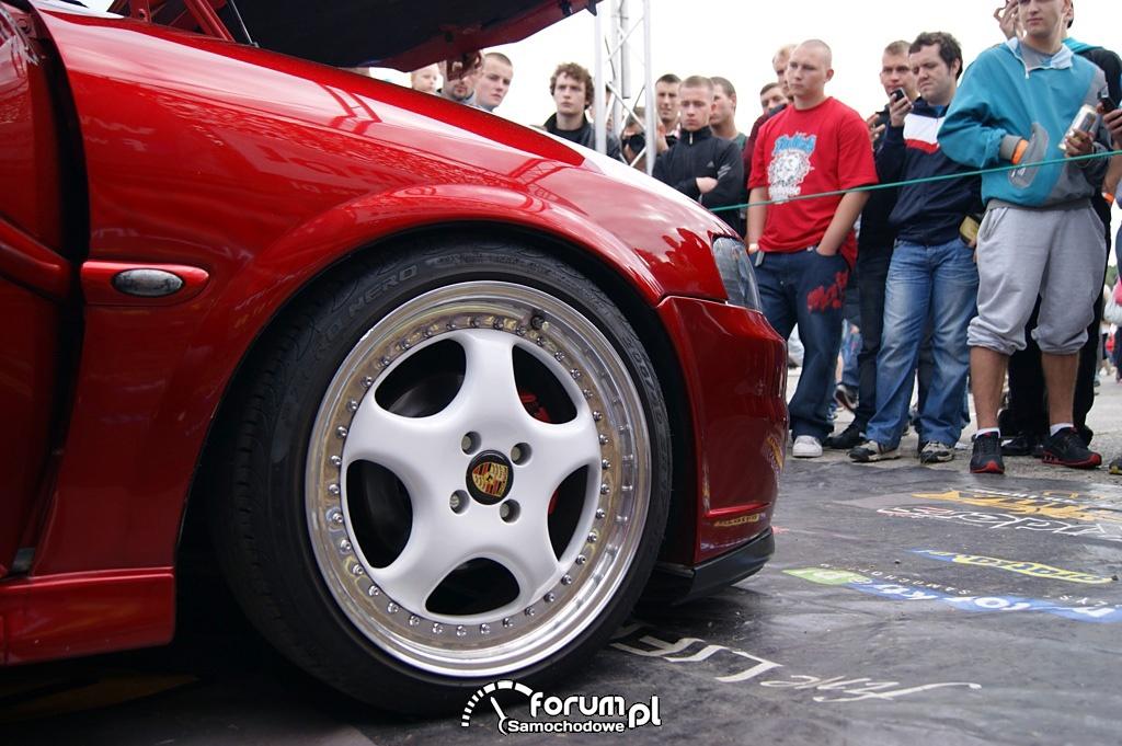 Opel Vectra B, tuning, alufelgi