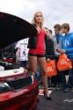 Opel Vectra B, tuning, dziewczyna, 3