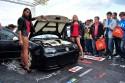 Volkswagen Golf IV, dziewczyny, modelki