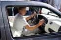 VW Golf III, jasne wnętrze