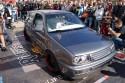VW Golf III, widok z góry, 2