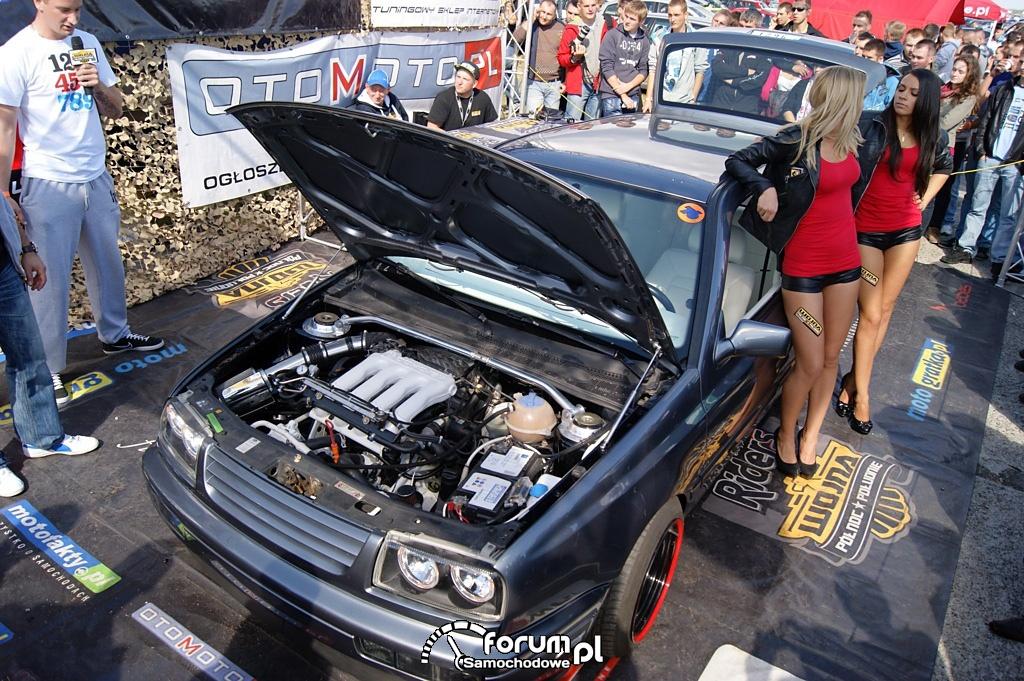 VW Golf III, widok z góry
