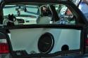 VW Golf III, zabudowa bagażnika Car Audio