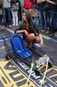 Wózek czterokołowy, tuning, dziewczyna