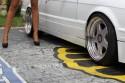 BMW E30, alufelgi i długie nogi