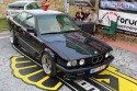 BMW E34 seria 5, widok z góry