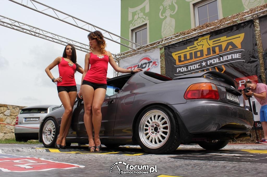 Honda CRX Del Sol, dziewczyny, 2