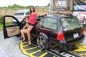 Volkswagen Bora Kombi, przezentacja auta, dziewcznyny, 2