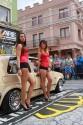 Volkswagen Golf II, prezentacja auta, dziewczyny