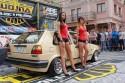 Volkswagen Golf II, prezentacja, dziewczyny
