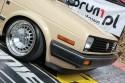 Volkswagen Golf II, szeroka lampa i alufelgi