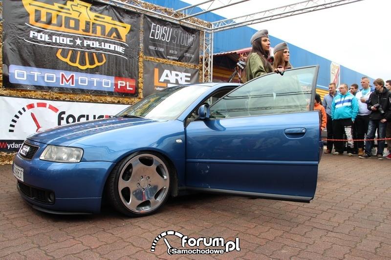 Audi A3, polerowane alufelgi