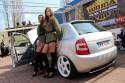 Dziewczyny i Skoda Fabia